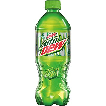 Diet Mountain Dew 20 oz