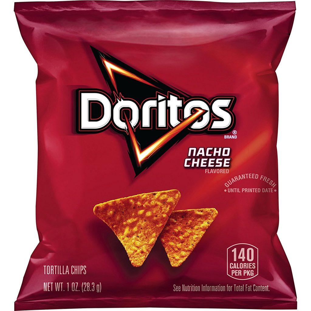Doritos Nacho Cheese Tortilla Chips – 1oz