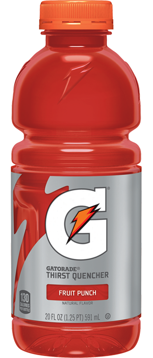 Gatorade Fruit Punch 20 oz.