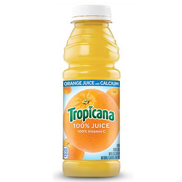 Tropicana Orange Juice, 15.2 oz bottle