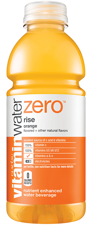 Vitamin Water Zero Orange Rise