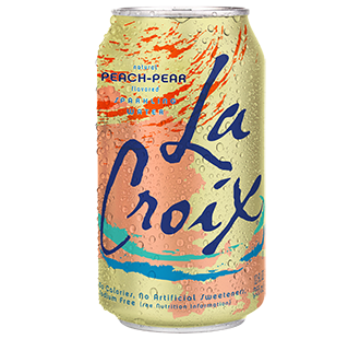 La Croix Peach-Pear Sparkling Water