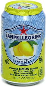 San Pellegrino All Natural Sparkling Lemon