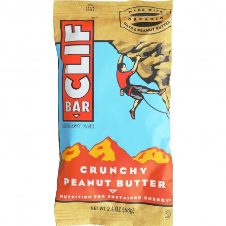 Clif Crunchy Peanut Butter 2.4oz Bag