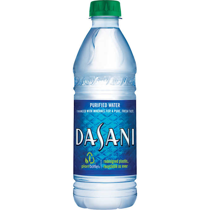 Dasani Purified Water 16.9 oz.