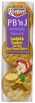 Keebler Sandwich Crackers – PB & J