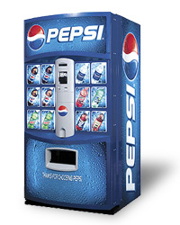 Pepsi Beverage Machine