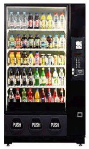 Glass Front Beverage Machine - Joyner Vending