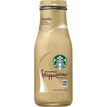 Starbucks Frappuccino- Vanilla 9.5 oz.