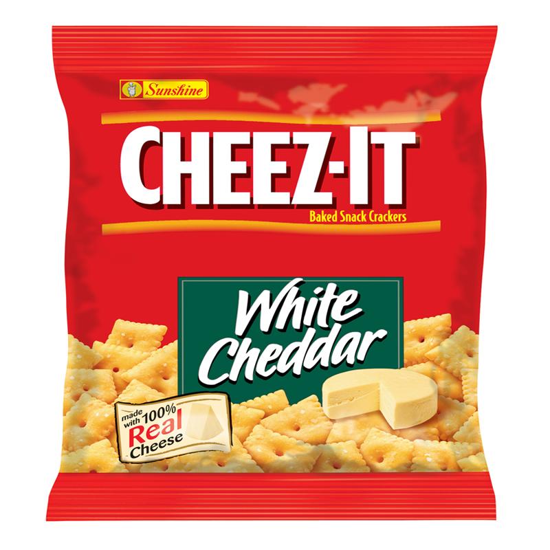 Crackers: Cheez-It Cheddar 1.5 OZ (42g)
