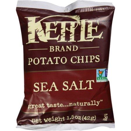 Kettle Brand Potato Chips – Sea Salt